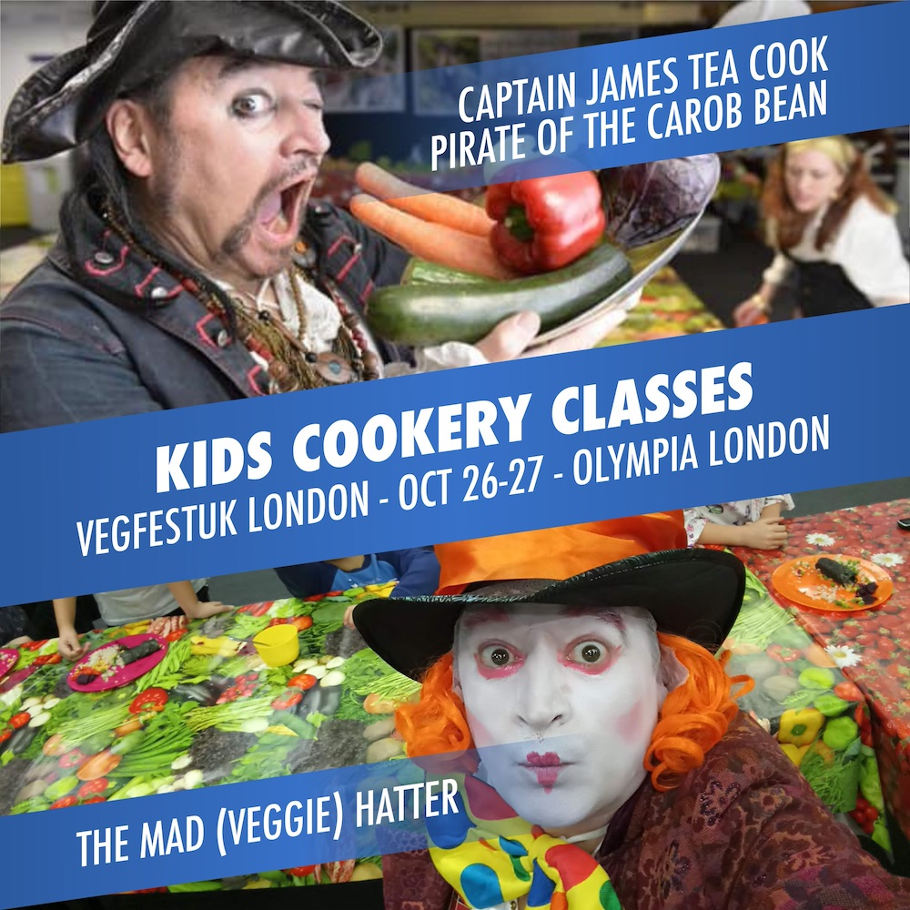Kids Cookery Classes at VegfestUK London 2019 – under 16's get free entry