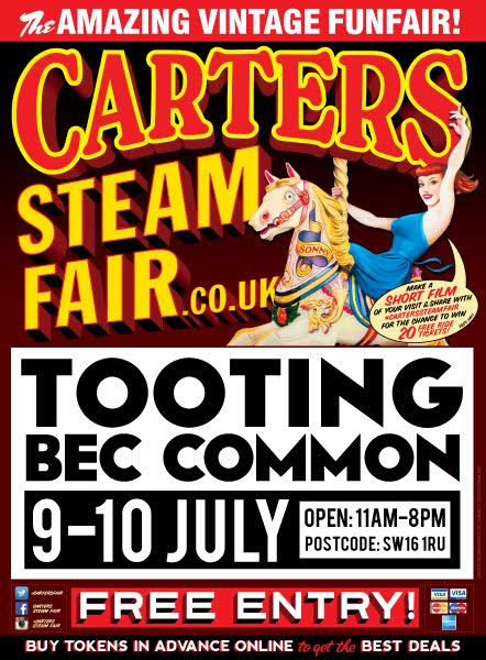Carters Steam Fair On Tooting Common