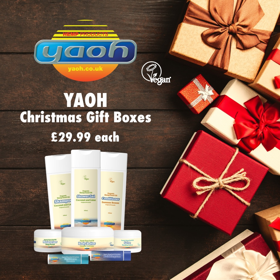 Yaoh Christmas Gift Boxes ideal for families and friends from November – December 2019